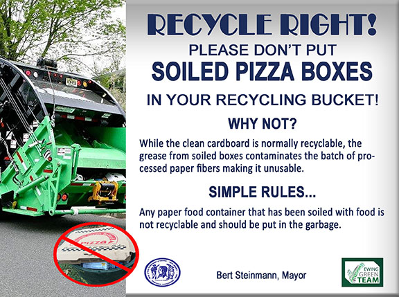 Recycle Right - Pizza