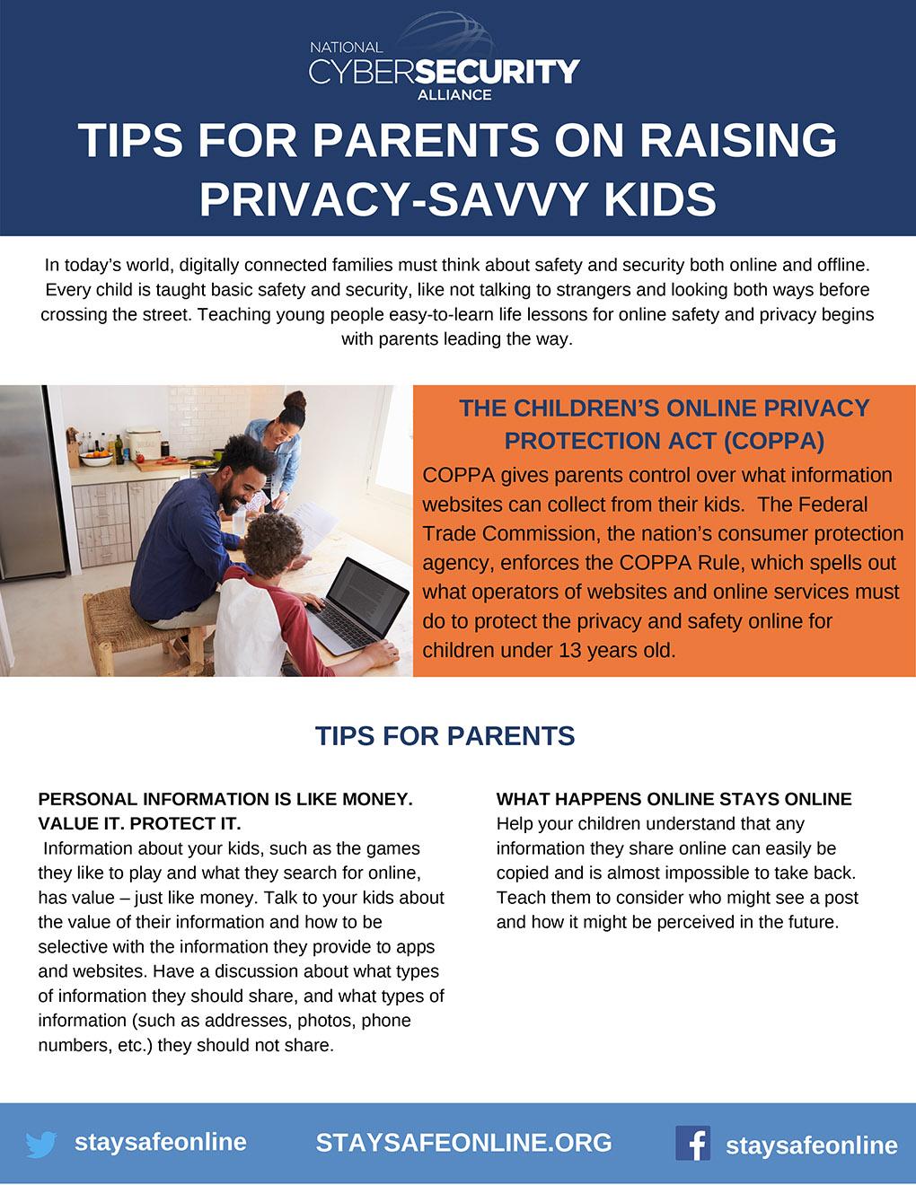 Raising Privacy-Savvy Kids