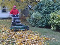 Learn how to talk to your clients about mulching in place.