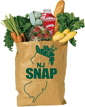 NJ SNAP Grocery Bag